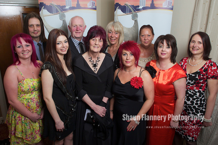 Pix: Shaun Flannery/shaunflanneryphotography.com...COPYRIGHT PICTURE>>SHAUN FLANNERY>01302-570814>>07778315553>>..24th March 2012Rotherham Metropolitan Borough Council (RMBC)..The Rotherham Athena Award 2012..Highly Commended Honouree Jean McVann.
