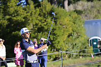 Rafa Cabrera-Bello (ESP) tees off the 5th tee at Pebble Beach course during Friday's Round 2 of the 2018 AT&amp;T Pebble Beach Pro-Am, held over 3 courses Pebble Beach, Spyglass Hill and Monterey, California, USA. 9th February 2018.<br /> Picture: Eoin Clarke | Golffile<br /> <br /> <br /> All photos usage must carry mandatory copyright credit (&copy; Golffile | Eoin Clarke)