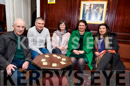 Supporting the fundraiser in The Manor Inn, Killorglin last Saturday in aid of Siobhan Mather's Cancer treatment <br /> L-R: John O'Riordan, Patie Griffin, Rosemary Griffin, Breda O'Riordan &amp; Siobhan Griffin.