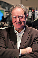 07/02/'11 TV3's Vincent Browne  pictured in the TV3 Studios this evening rehearsing for tomorrow night's party leader's debate...Picture Colin Keegan, Collins.****NO REPRODUCTION FEE FOR PIC****