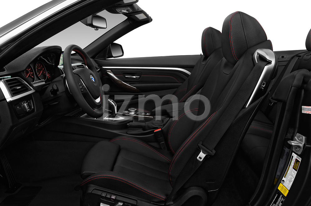 Front seat view of a 2019 BMW 4 Series 430i 2 Door Convertible front seat car photos