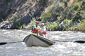 Fishermen & Women floating the Upper Colorado River fishing between Rancho Del Rio and State Bridge on July 8, 2014.