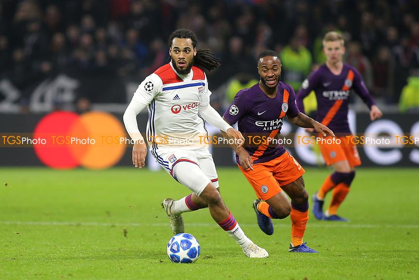 Lyon's Jason Denayer in action during Lyon vs Manchester City, UEFA Champions League Football at Groupama Stadium on 27th November 2018