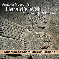 Pictures &  images of Herald's Wall Carchemish Hittite Relief Sculptures