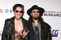 LOS ANGELES - FEB 8:  Lzzy Hale, Joe Hottinger, Halestorm at the MusiCares Person of the Year Gala at the LA Convention Center on February 8, 2019 in Los Angeles, CA
