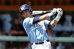 07 May 2016: North Carolina's Logan Warmoth. The University of North Carolina Tar Heels played the University of Louisville Cardinals in an NCAA Division I Men's baseball game at Boshamer Stadium in Chapel Hill, North Carolina.