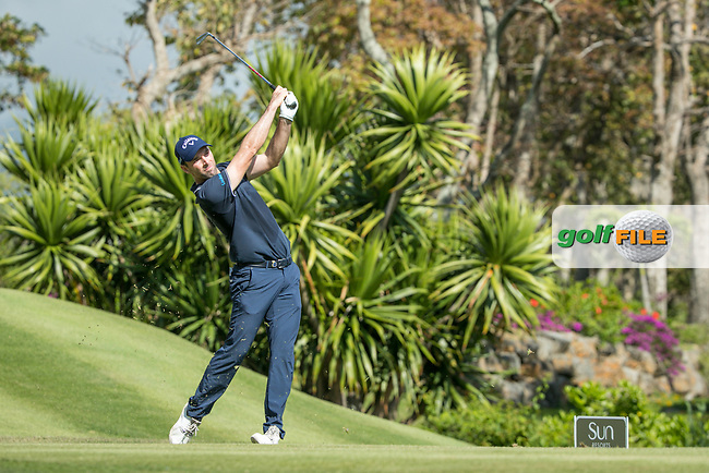 Oliver Wilson (ENG) during the 2nd round of the AfrAsia Bank Mauritius Open, Four Seasons Golf Club Mauritius at Anahita, Beau Champ, Mauritius. 30/11/2018<br /> Picture: Golffile | Mark Sampson<br /> <br /> <br /> All photo usage must carry mandatory copyright credit (&copy; Golffile | Mark Sampson)
