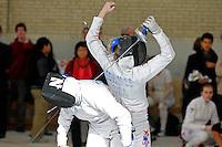 140112 University of Pennsylvania - Women's Fencing vs Northwestern & Temple
