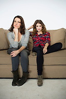 Happy Christmas (2014) <br /> Promo shot of Melanie Lynskey &amp; Anna Kendrick  <br /> *Filmstill - Editorial Use Only*<br /> CAP/KFS<br /> Image supplied by Capital Pictures