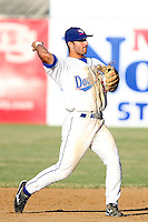 June 24th, 2007:  Darin Mastroianni of the Auburn Doubledays, Class-A affiliate of the Toronto Blue Jays at Falconer Park in Auburn, NY.  Photo by:  Mike Janes/Four Seam Images