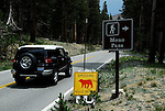 Hwy  120 to Tioga Pass in Yosemite National Park