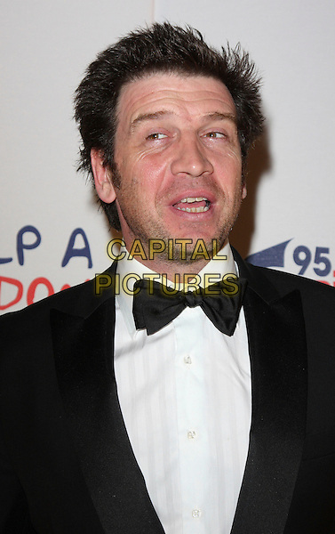 NICK KNOWLES .Capital Rocks at the Battersea Evolution, London, England, December 2nd 2008.portrait headshot black bow tie .CAP/ROS.©Steve Ross/Capital Pictures