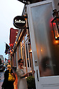 SoBou bar in the French Quarter's W hotel, New Orleans.