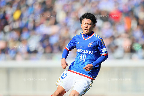 Masashi Wada (F Marinos), <br /> FEBRUARY 21, 2015 - Football / Soccer :<br /> 2015 J.League Pre-season match between <br /> Yokohama F Marinos 0-1 Matsumoto Yamaga FC <br /> at Nissan Stadium in Kanagawa, Japan. <br /> (Photo by Yohei Osada/AFLO SPORT) [1156]
