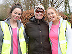 Kate, Anne and Mary Fanning who took part in the 5k walk/run from An Grianan in aid of St Mary's special school Drumcar. Photo:Colin Bell/pressphotos.ie