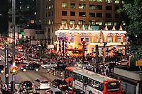 SÃO PAULO, SP, 07 DE DEZEMBRO DE 2012 - Inauguração da decoração natalina da Avenida Paulista, em São Paulo, nesta sexta-feira (07). FOTO: ISABELLE ANDRADE - BRAZIL PHOTO PRESS