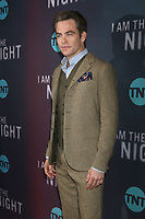 "LOS ANGELES - JAN 24:  Chris Pine at the ""I Am The Night"" Premiere Screening at the Harmony Gold Theater on January 24, 2019 in Los Angeles, CA"