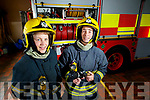 Marian O'Donoghue and Sinead Galvin  Firefighters at Killarney Fire Station.