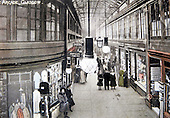 archive copy picture of a post-card (dated 1908) of the Argyle Arcade - Glasgow - see story - Picture by Donald MacLeod - 15.2.11 - 07702 319 738 - www.donald-macleod.com