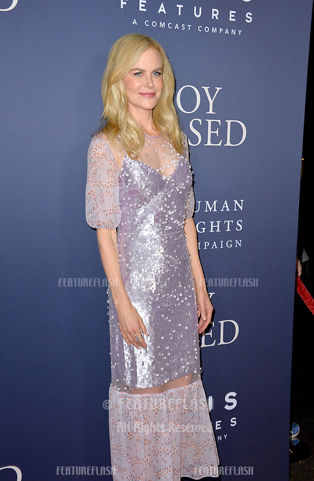 LOS ANGELES, CA. October 29, 2018: Nicole Kidman at the Los Angeles premiere for &quot;Boy Erased&quot; at the Directors Guild of America.<br /> Picture: Paul Smith/Featureflash