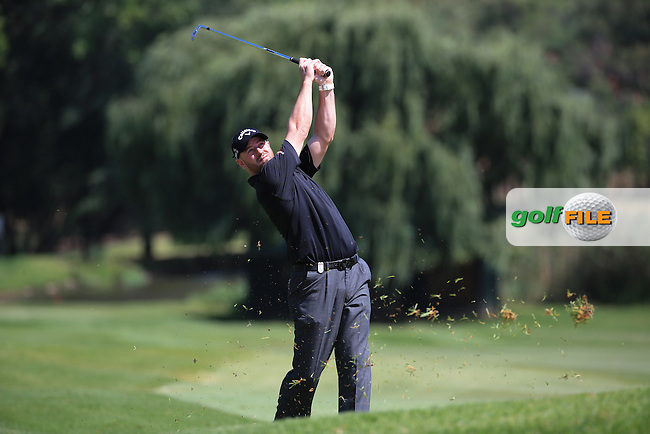 Craig Lee (SCO) in action on the 18th fairway during Round Two of the 2016 BMW SA Open hosted by City of Ekurhuleni, played at the Glendower Golf Club, Gauteng, Johannesburg, South Africa.  08/01/2016. Picture: Golffile | David Lloyd<br /> <br /> All photos usage must carry mandatory copyright credit (&copy; Golffile | David Lloyd)