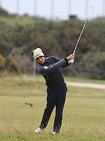 Florian Fritsch (GER) on the 17th fairway during the 2015 Alfred Dunhill Links Championship at the Old Course in St. Andrews in Scotland on 4/10/15.<br /> Picture: Thos Caffrey | Golffile