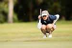 Golfer Tamara Johns of Australia during the 2017 Hong Kong Ladies Open on June 10, 2017 in Hong Kong, China. Photo by Marcio Rodrigo Machado / Power Sport Images