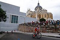 Antonio Serrat of Spain during the 2017 Madrid ITU Triathlon World Cup in Madrid, May 28, 2017. Spain.. (ALTERPHOTOS/Rodrigo Jimenez) /NortePhoto.com