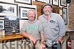Eoin Knightly (Annascaul) with explorer Mike O'Shea at the Tom Crean Festival in Annascaul.