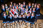 Dancers from the Aine Murphy school of dancing who were successful in Oireactas Rince na Mumhan last weekend