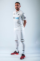 Friday  15 July 2016<br />Pictured: Angel Rangel<br />Re: Swansea City FC  Joma Kit photographs for the 2016-2017 season