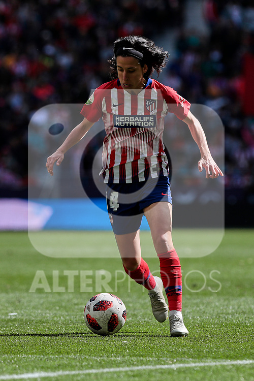 Atletico de Madrid's Dolores Isabel Jacome during Liga Iberdrola match between Atletico de Madrid and FC Barcelona at Wanda Metropolitano Stadium in Madrid, Spain. March 17, 2019. (ALTERPHOTOS/A. Perez Meca)