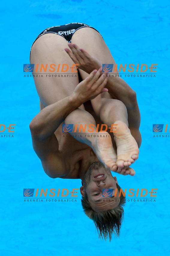 Gabriele Auber <br /> 3m Trampolino Uomini <br /> Roma 20-06-2016 Stadio del Nuoto Foro Italico Tuffi Campionati Italiani <br /> Foto Andrea Staccioli Insidefoto