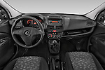 Stock photo of straight dashboard view of a 2015 Opel COMBO LiHI 4 Door Cargo Van 2WD Dashboard