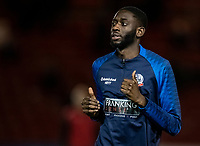 Bolton Wanderers' Muhammadu Faal warming up before the match <br /> <br /> Photographer Andrew Kearns/CameraSport<br /> <br /> The EFL Sky Bet League One - Lincoln City v Bolton Wanderers - Tuesday 14th January 2020  - LNER Stadium - Lincoln<br /> <br /> World Copyright © 2020 CameraSport. All rights reserved. 43 Linden Ave. Countesthorpe. Leicester. England. LE8 5PG - Tel: +44 (0) 116 277 4147 - admin@camerasport.com - www.camerasport.com