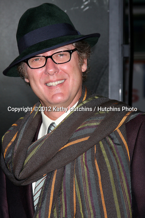 """LOS ANGELES - NOV 8:  James Spader arrives at the """"Lincoln"""" Premiere at the AFI Fest at Graumans Chinese Theater on November 8, 2012 in Los Angeles, CA"""