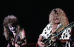 Blue Murder - Tony Franklin ,John Sykes Tony Franklin in costume for Halloween.