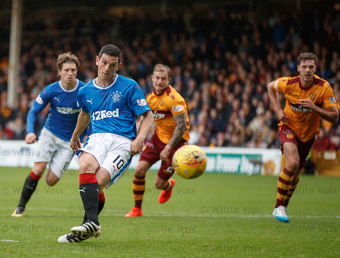 Graham Dorrans scores from the penalty spot