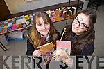 Enjoying Love Literature Week and World Book Day on Thursday were Presentation Secondary students Debbie O'Sullivan and Laura Dempsey.