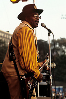 Bo Diddley performing in Boston, MA in 1969. © Peter Tarnoff / MediaPunch