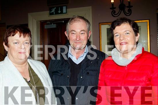 L-R Fiona&Michael O'Sullivan with Orla Casey at the Sharon Shannon concert at O'Riada's, Ballymac, last Saturday night.