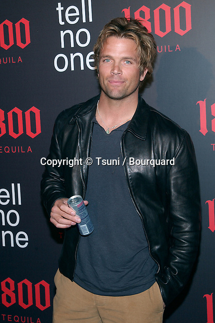 "David Chokachi arriving ""At Tell No One, talent party promoting the 1800 Tequila""  at the Chatau Marmont in Los Angeles. May, 2nd 2002.             -            ChokachiDavid01A.jpg"