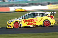 Round 9 of the 2018 British Touring Car Championship. #3 Tom Chilton. Team Shredded Wheat Racing with Gallagher. Ford Focus RS.