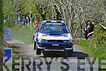 John Hickey Killarney in Last years Rally of the lakes.