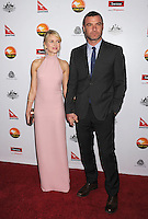 LOS ANGELES, CA - JANUARY 12: Naomi Watts and Liev Schreiber attend the 2013 G'Day USA Black Tie Gala at JW Marriott Los Angeles at L.A. LIVE on January 12, 2013 in Los Angeles, California.PAP0101387.G'Day USA Black Tie Gala PAP0101387.G'Day USA Black Tie Gala