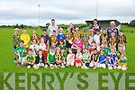 Boys and Girls from  Abbeydorney GAA, club taking part in the summer Cul Camp on Monday