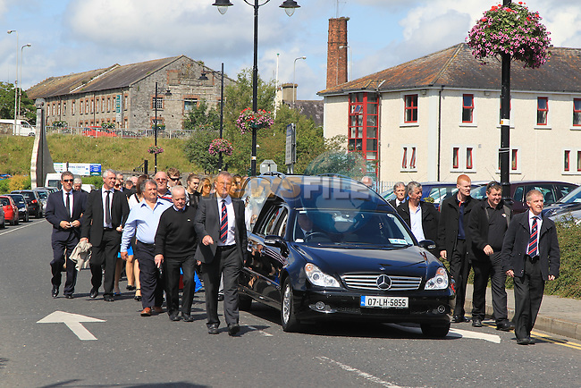 The funeral of Charlie Hurley.Picture: Fran Caffrey / www.newsfile.ie