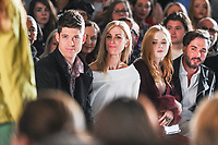 Katherine Kelly and Ellie Bamber at the Jasper Conran Spring Summer 2018 show as part of London Fashion Week, London, UK. <br /> 16 September  2017<br /> Picture: Steve Vas/Featureflash/SilverHub 0208 004 5359 sales@silverhubmedia.com