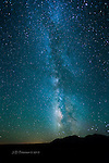 Milky Way over Abajo Mountains, Utah