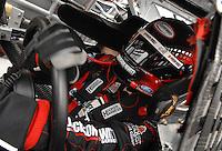 Mar 31, 2007; Martinsville, VA, USA; Nascar Nextel Cup Series driver Greg Biffle (16) during practice for the Goody's Cool Orange 500 at Martinsville Speedway. Martinsville marks the second race for the new car of tomorrow. Mandatory Credit: Mark J. Rebilas.